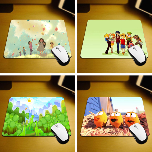 Maiyaca Cute Kids Rubber Mouse Pad Desk Mat 18 22cm And 25 29cm