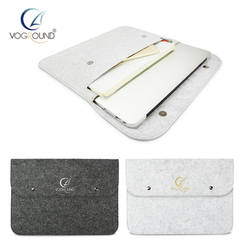 VOGROUND Wool Felt Touch Bar Sleeve Bag Case For Apple Macbook Air Pro Retina 11 12 13 15 Laptop Cover For Mac book 13.3 inch