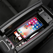 Car styling central storage box armrest remoulded Auto glove storage box covers For Mercedes Benz A Class A180 A200 Accessories