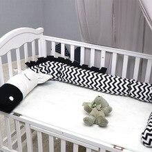 Креативный бампер для детской кроватки, плюшевые подушки из крокодиловой кожи, бамперы для детской кроватки, вкладыш для детской кроватки, Мультяшные подушки с изображением животных, детская колыбель