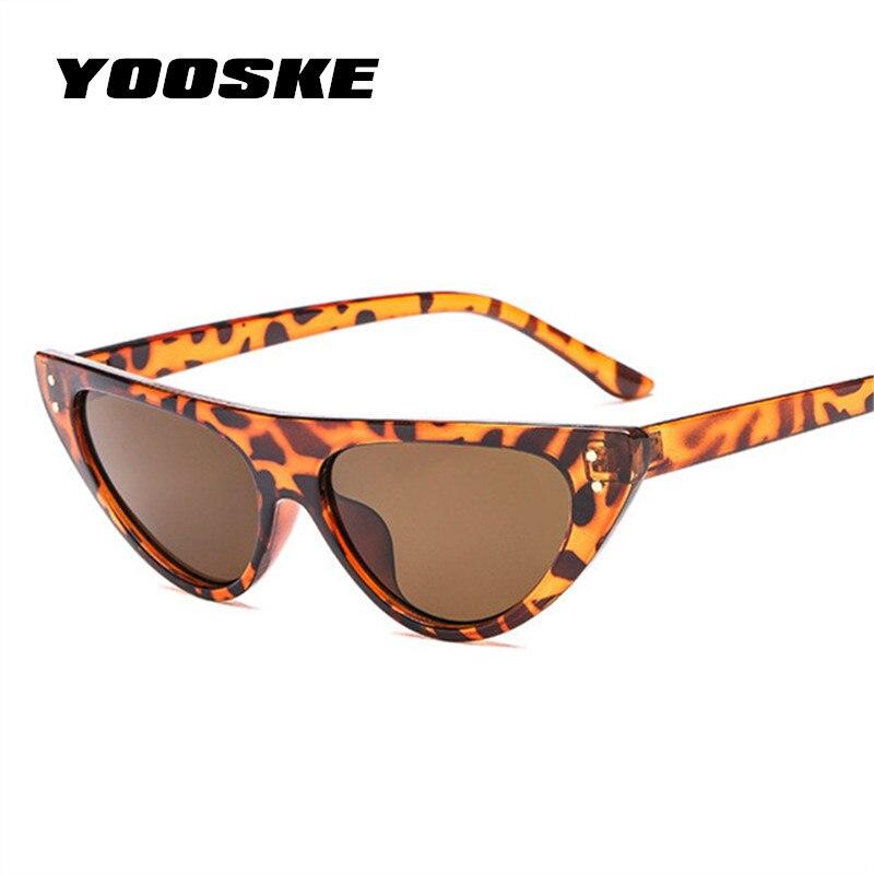 9bb551b90099 Aliexpress.com   Buy YOOSKE Retro Cat Eye Sunglasses For Women Small  Designer Shade Triangle Eyeglasses Vintage Cateye Sun Glasses Female UV400  from ...