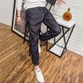 2017 Nueva Marca Famosa Jeans Para Hombre de Alta Calidad Pantalones de Mezclilla 5XL Estilo Overol de Mezclilla Vaqueros Masculinos Ocasionales Más Tamaño Caliente venta