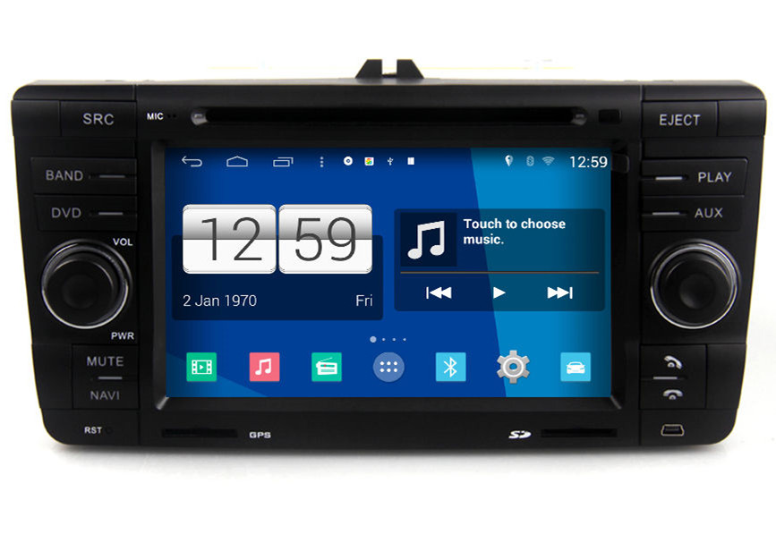 Android 4.4 Car Multimedia For Skoda Yeti Octavia Laura Radio DVD GPS Navigation Sat Navi Audio Video S160 System