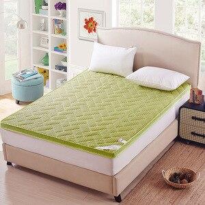Image 3 - Matelas épais de massage, double ou simple, matelas à air en fibre de bambou, pour dortoir, camping, livraison gratuite
