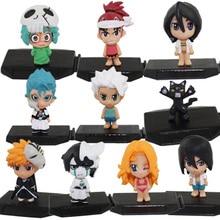 Bleach Ichigo Kurosaki Orihime Inoue PVC Collection Bleach Figure Toys 10pcs/set