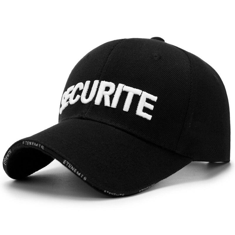 Chapeau type fixe ne peut pas être ajusté pour le type de casquette de baseball des hommes