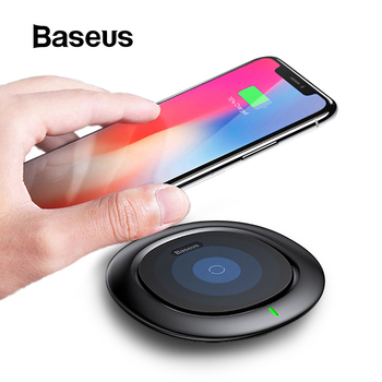 Baseus UFO Wireless Charger For iPhone X 8 Samsung Note8 S9 S8 Mobile Phone 10W Qi Wireless Charging Charger Fast Charging Pad Mobile Phone Chargers