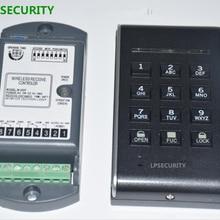 LPSECURITY безопасности беспроводной гараж раздвижные распашные ворота дверь программируемая клавиатура контроля доступа(батарея в комплект не входит