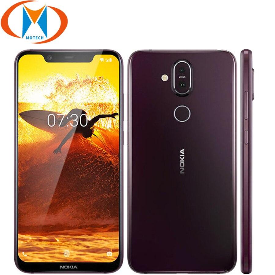 Nokia 8 1 Global Version Smartphone TA 1119 6 18 Snapdragon 710 Octa Core 4GB 64GB