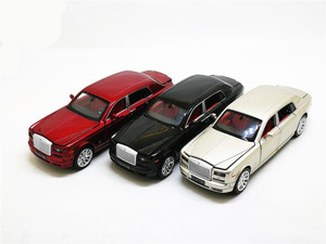 Image 5 - 1:32 Rolls Royce Phantom Extended Limousine Alloy Diecast Toy Metal Vehicle Car Model Kids Gift Collection Free Shipping