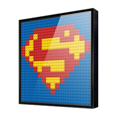 Us 203 30 Off32x32 Dots Isometric Pixel Art Bricks 1x1 Mini Square Building Blocks Wall Portraits Diy Home Decoration Compatible With Lgoely In