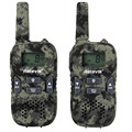 2 unids walkie talkie niños retevis rt33 8ch 0.5 w 446.00625-446.09375 gmrs/frs vox exploración de tonos de llamada ctcss/dcs radio linterna a9117n