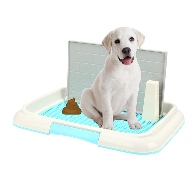 Lattice Dog Toilet Potty Puppy Litter Tray Pee Training Bedpan Toilet Easy to Clean Pet Toilet Pet Product 1