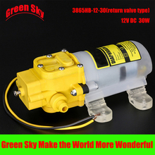 Electric sprayer pump watering irrigation usage 30W dc 12v diaphragm water