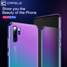Cafele Luxury Case For Huawei P30 20 pro PC Hard Cover P20 lite Aurora Gradient Color Cases Phone Protection