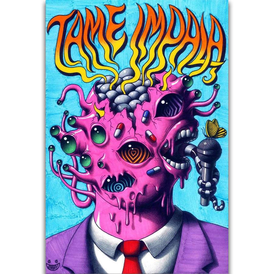 Hot Tame Impala Custom Hot Rock Music Band New Art Poster 40 12x18 24x36 T-560