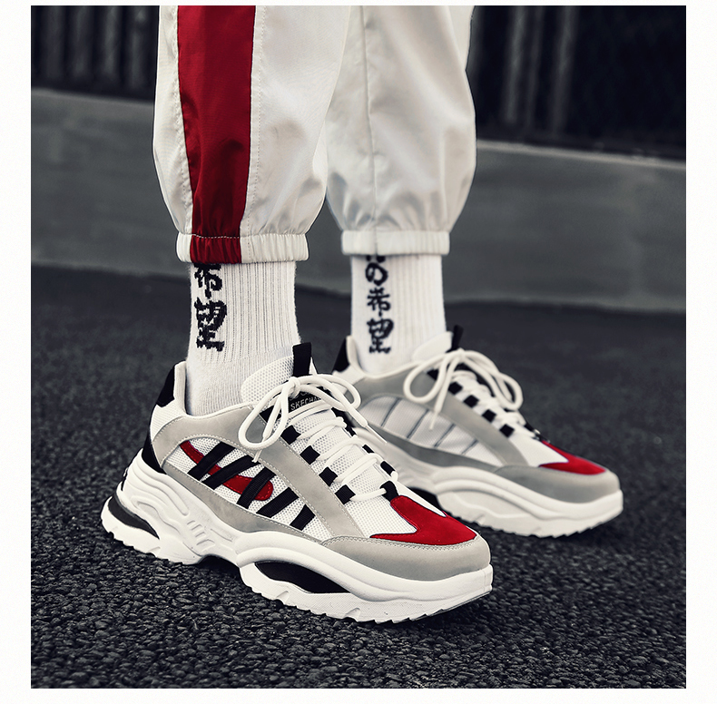 HTB1hOU7aUvrK1RjSspcq6zzSXXaG BomKinta Stylish Designer Casual Shoes Men Yellow Sneakers Black White Walking Footwear Breathable Mesh Sneakers Men Shoes