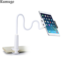 лучшая цена Tablet Holder Stand for iPad 9.7 Pro 10.5 Air 2/1 Mini Lazy Bed Desktop Tablet Stand Mount Support  for 3.5-10.5 inch Phone PC