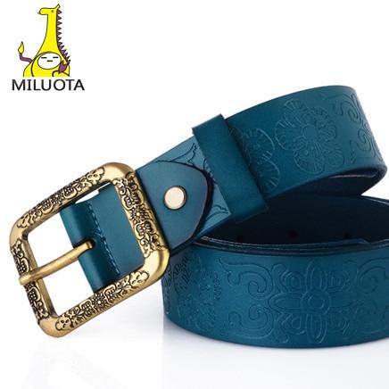 Classic High Quality 100% genuine leather Unisex belt