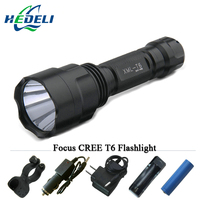 Xm L2 Tactical Flashlight Led Torch Rechargeable Waterproof Hunting Light Cree Xml T6 Rechargeable Batteries 18650