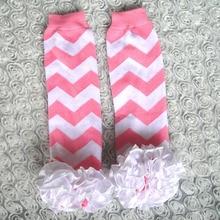 Leg-Warmers Cotton for 1-4-Years Children Spring Autumn Flower Satin Knitting Baby-Girl