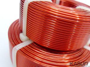 Image 2 - 1,0mm Hohl Inductor Dreidimensionale Hohe Reinheit Sauerstoff freies Kupfer Lautsprecher Frequenz Teiler Kupfer Spule Audio Zubehör
