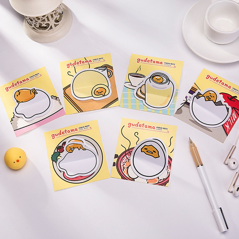 1pcs Cute Egg Shell Memo Pad Paper Sticky Notes Post Notepad Stationery Papeleria School Supplies Drop Shipping
