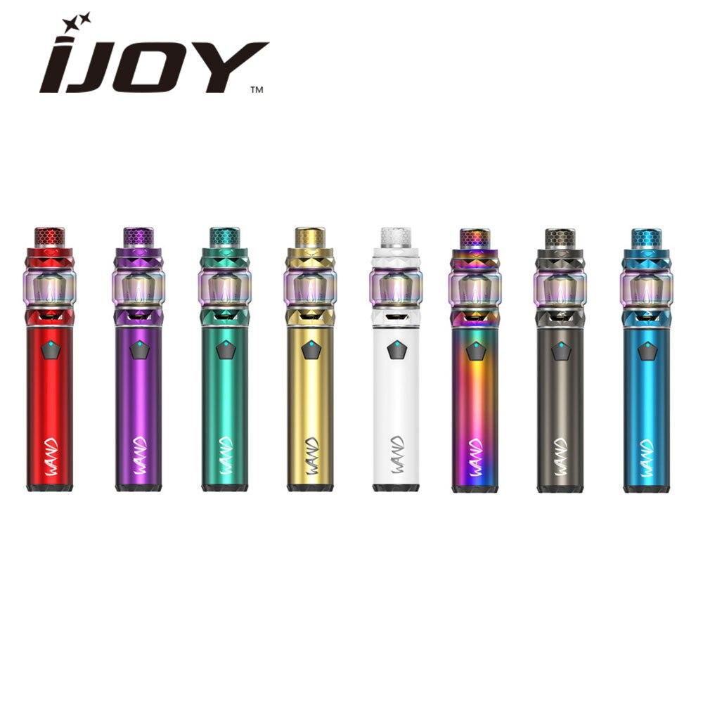 100% Origianl IJOY Bacchetta Starter Kit con 5.5 ml Capacità del Serbatoio e 2600 mah Batteria MOD e 100 w Max uscita Sigaretta Elettronica Vape