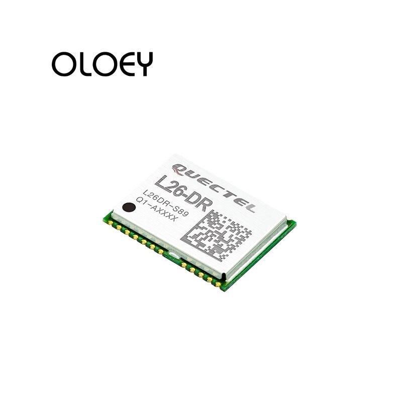 GNSS L26-DR L26DR GNSS Module GPS, GLONASS, BeiDou, Galileo And QZSS Signals Support DGPS(RTCM)/SBAS (WAAS/EGNOS/MS