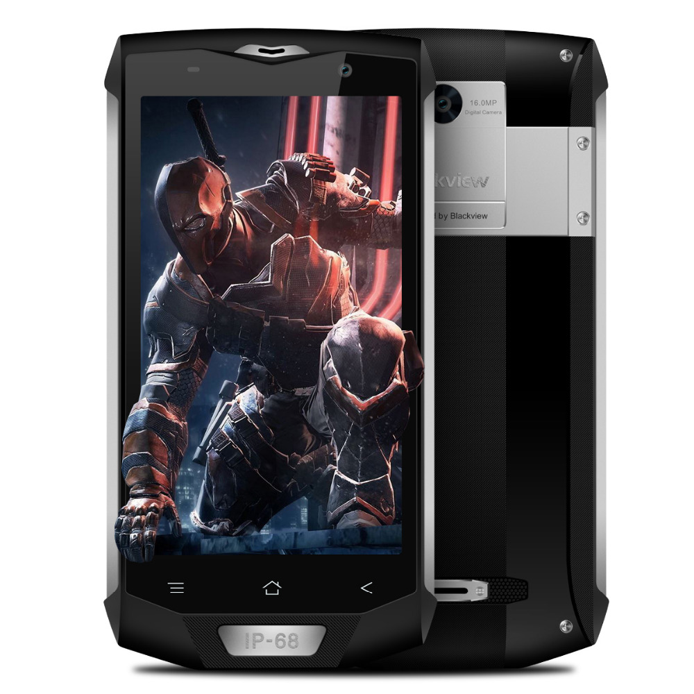 Blackview BV8000 Pro IP68 Waterproof Smartphone 4G LTE 5 0 FHD MT6757V Octa Core 6GB RAM