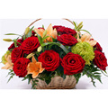 5D DIY oil painting red rose blue wall home decoration diamond embroidery gift flower craft picture YZ158