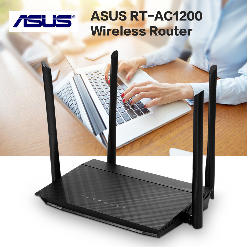 ASUS Wireless-AC1200 Wi-Fi Router RT-AC1200 Wireless Router Free Shipping