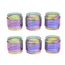 2PCS Cthulhu Hastur MTL RTA Rainbow Transparent Expansion Glass Tube Replacement(China)