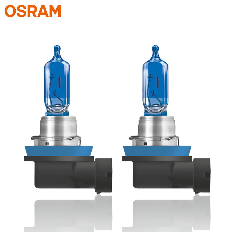 OSRAM Cool Blue Advance H9 12V 65W 5000K Halogen Cool Blue White Xenon Look Auto Headlight Car Light Lamp 62213CBA (Twin)-in Car Headlight Bulbs(Halogen) from Automobiles & Motorcycles    2