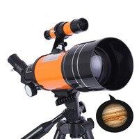 Открытый HD астрономический телескоп с треногой Монокуляр Луна наблюдение за птицами подарок для детей со штативом