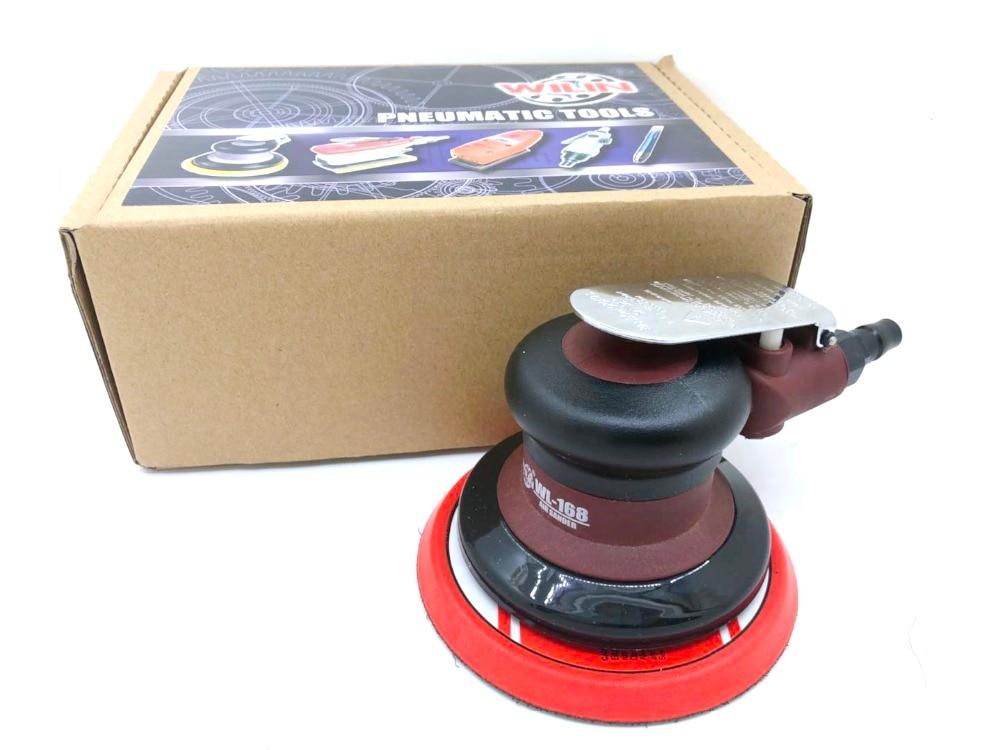 цена на Winlin 5 inch sander paper machine Palm Random Orbital Sander Polisher 5 Inch Circle Round Pad Light Weight Powerful
