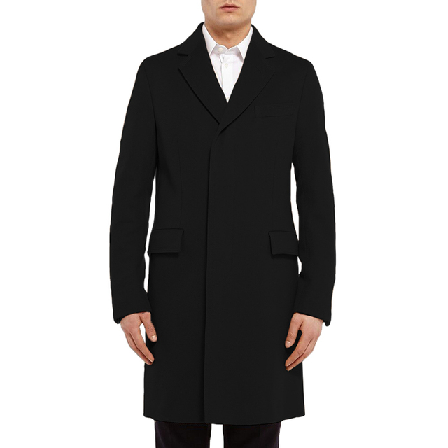 2015 Autumn And Winter New Fashion Covered Cotton  Men Trench Coat Hot Cotton To Keep Warm Comfortable Long Trench Coats