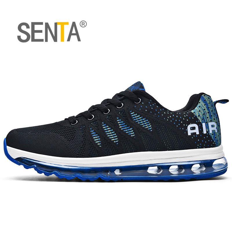 Cushion Running Shoes for Men Light Comfort Sneakers Breathable Mesh Sport Shoes Outdoor Walking Jogging Shoes Athletic Shoes
