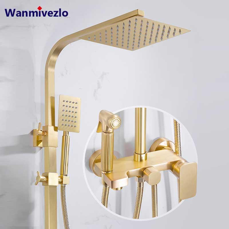 Best Cool Bathroom Fixtures Brushed Gold Central Now @house2homegoods.net