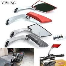 цена на Motorcycle Rearview Mirror Aluminum rear side mirrors For Honda MSX125 MSX300 MSX 125 MSX 300 MSX125 300 PCX 125/150 PCX125