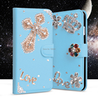Varies Design Lady Fashion Case For Huawei Ascend XT H1611 Flip Rhinestone Diamond Wallet Leather Handmade Cover Case