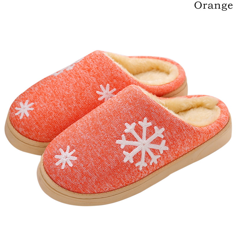 WENYUJH Cotton Slippers Shoes Home New Small Fresh No with Couple Warm-Month-Bag