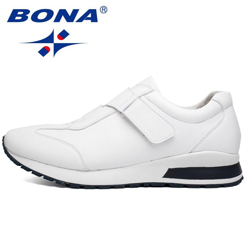 BONA nouveau Style populaire hommes chaussures de marche activités de Jogging en plein air baskets chaussures de Sport confortables doux rapide livraison gratuite