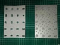Snowflake Hollow Box Metal Die Cutting Scrapbooking Embossing Dies Cut Stencils Decorative Cards DIY Album Card