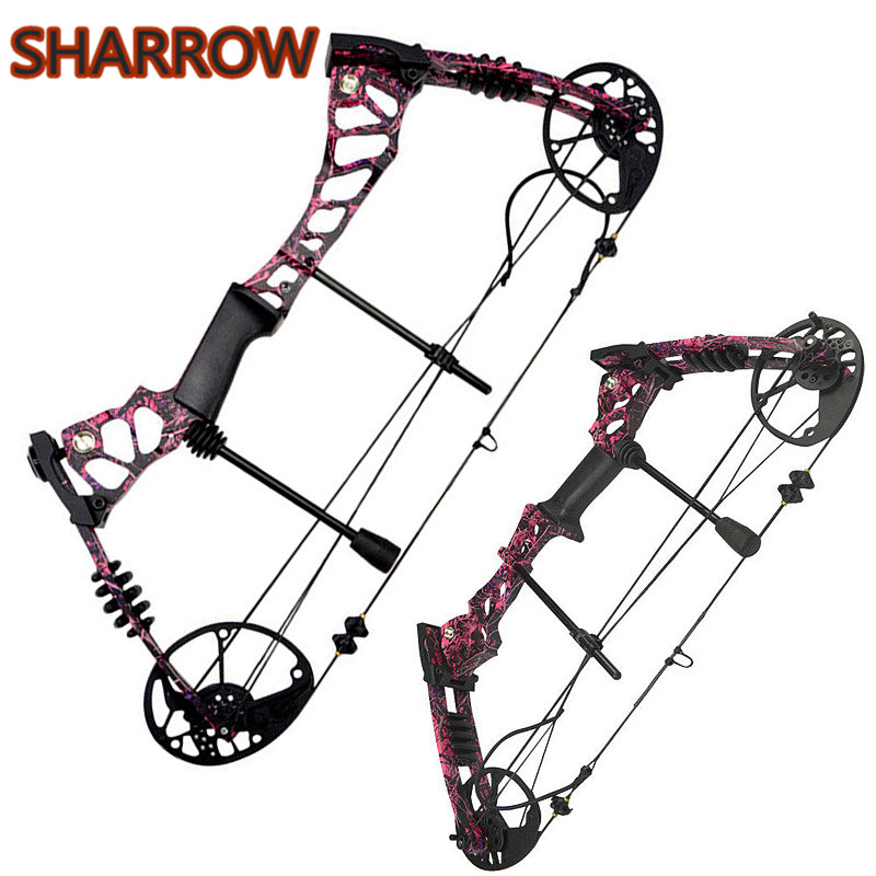 Complete Compound Bow Package Set 40 60lbs Aluminum Adjustable Adult Kit Right Hand Outdoor Hunting Catapult