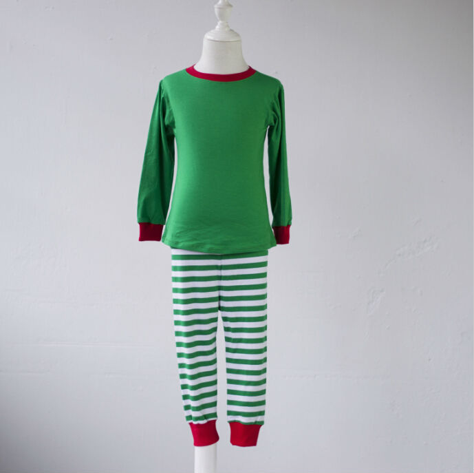 4f53c18232c7 blank boutique kid teenage toddler clothing girls fall winter pajamas  SleepWear boys kids red green striped christmas pjs-in Pajama Sets from  Mother   Kids ...