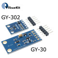 GY-30 GY-302 BH1750 BH1750FVI чип светильник интенсивность светильник Сенсор модуль для Arduino 3V-5V