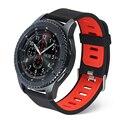 V-MORO New Durable Silicon Banda Relógio Esportivo Para A Engrenagem S3 banda Pulseira De Relógio de Substituição Para Engrenagem S3 Clássico fronteira Inteligente relógio