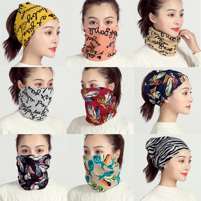 2019 Autumn And Winter Women Scarf Soft Cashmere-like Plaid Lady Hair Scarves Rings Children Girl Neck Scarfs Cotton Face Mask