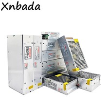 Transformateur d'alimentation, cc5v 2A 5A 6A 8A 10A 20A 30A 40A 60A, interrupteur Led, adaptateur pilote d'alimentation Led à courant Constant